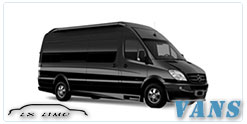 Luxury Van service in Tucson