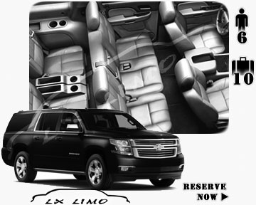 SUV Suburban for hire in Tucson