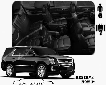 SUV Escalade for hire in Tucson AZ