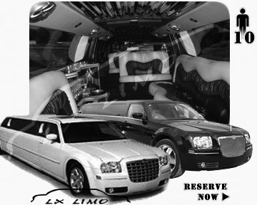 Chrysler 300 Limo for wedding in Tucson